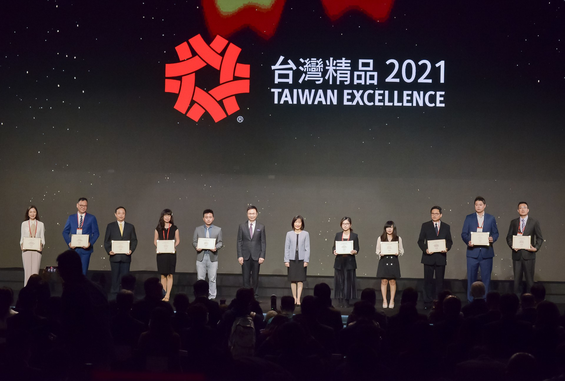 台灣精品2021_益詮精密(股)公司受獎代表
