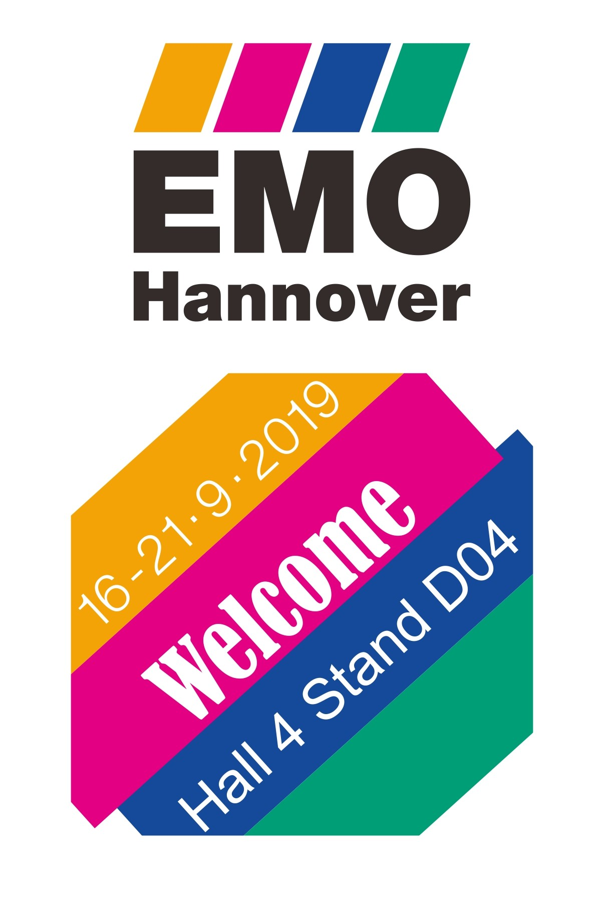 EMO Hannover 2019 with Echaintool from Taiwan
